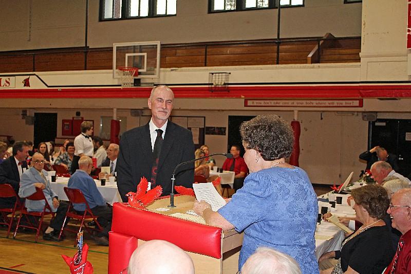 Retring Principal of Stevens High School, L. Paul Couture