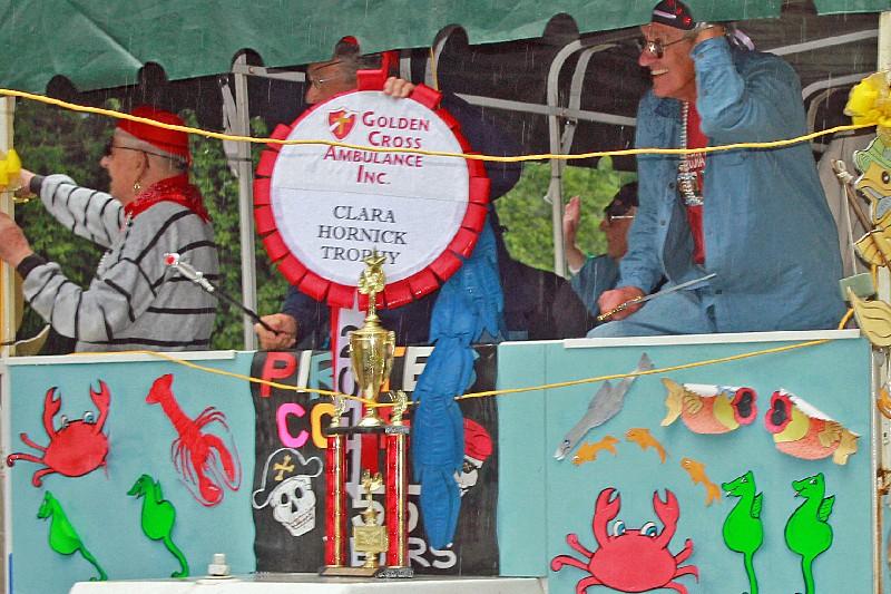 "Class of 1956 'Clara Hornick Trophy"" winners"