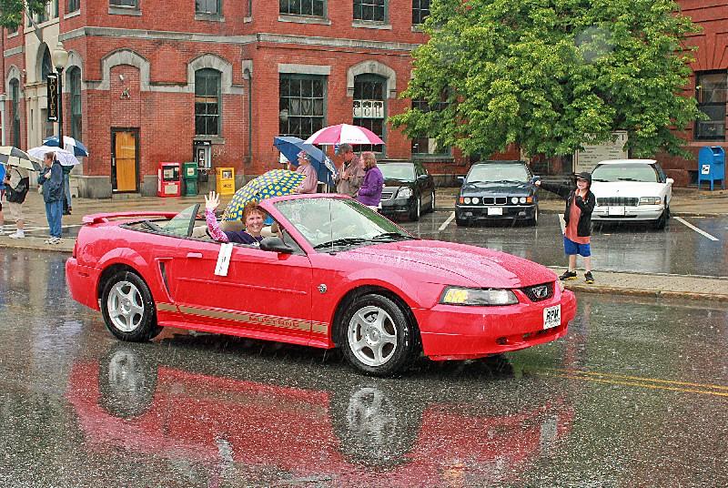A wet Parade Marshall - Cheryl Ferland