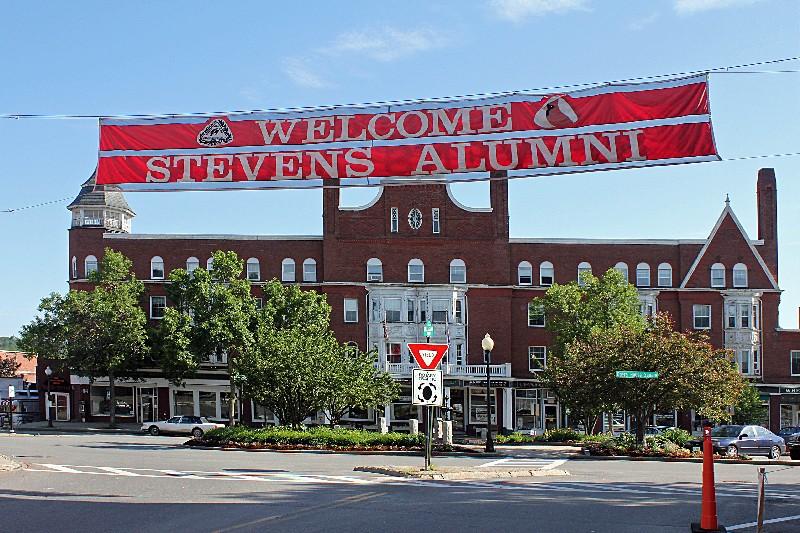 Stevens High School, Claremont, N.H. parade day. June 9, 2012