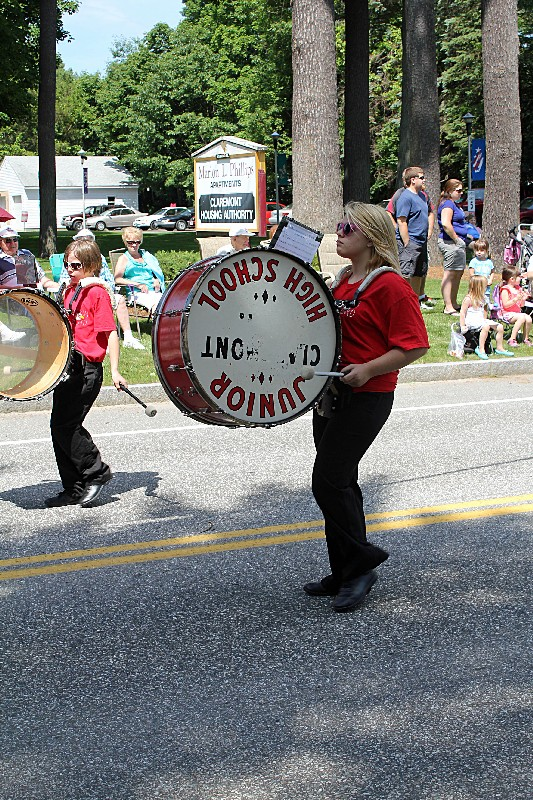 Claremont Middle Street School Band
