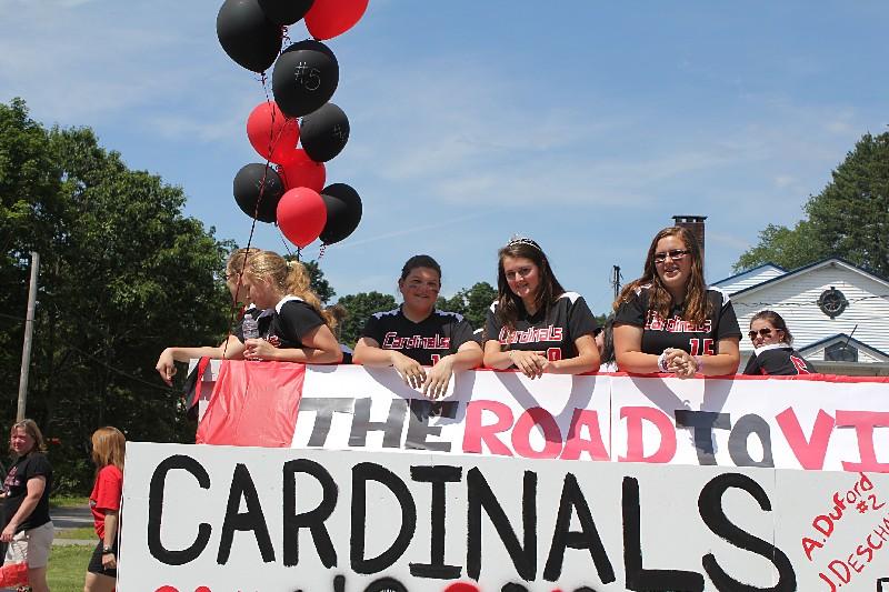 Cardinal Girl softball Team of 2012