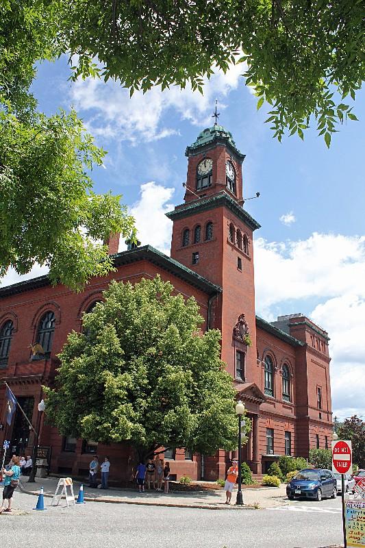 Claremont, N.H. City Hall on Stevens Alumni Day