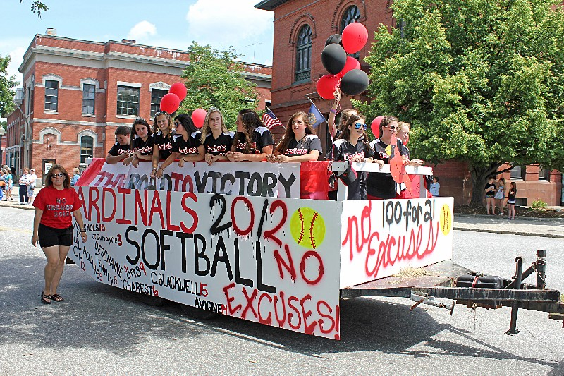 Cardinals Girls Softball Team
