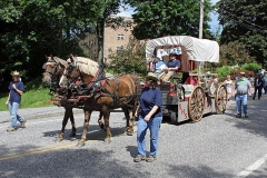 Class of 1972 ( Clara Hornick Winners) (Horse drawn wagon own by Jay Fisher)