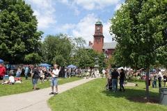 Broad Street Park Festivities - Claremont, N.H. - On Stevens Alumni Day