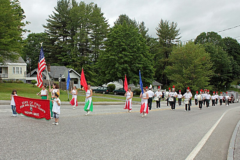 Sons of Italy Drum and Bugle Corp from Haverhill, Mass.