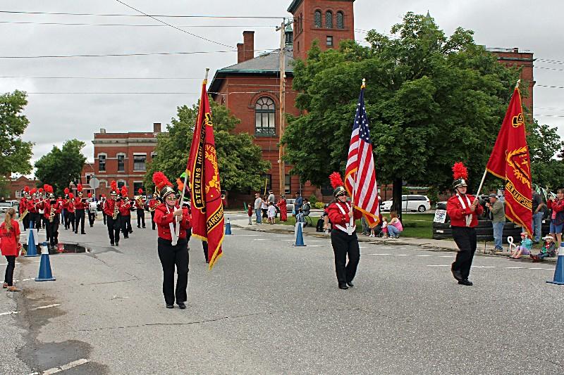 Stevens High School Band - Claremont, N.H.