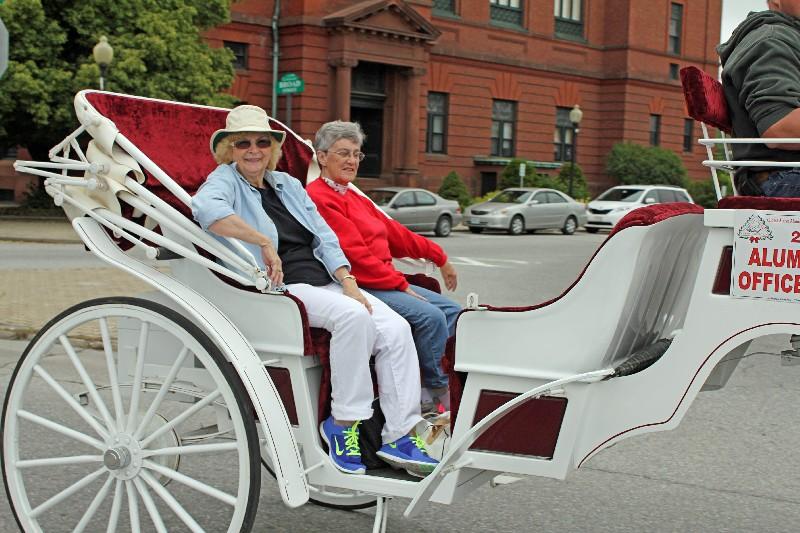 stevens Alumni Officers - Carolyn Bowles LeBanc (62) and Mary Picknell Woodman (61)