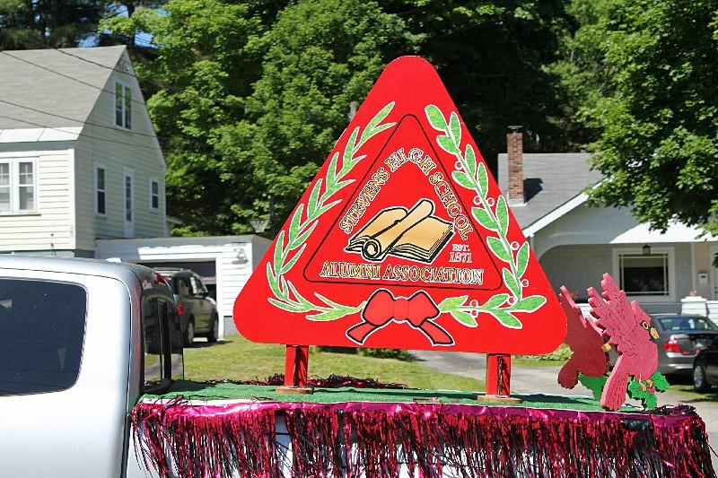 Stevens High School Alumni Association float