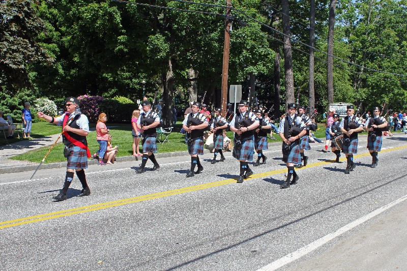 Catamount Pipe Band