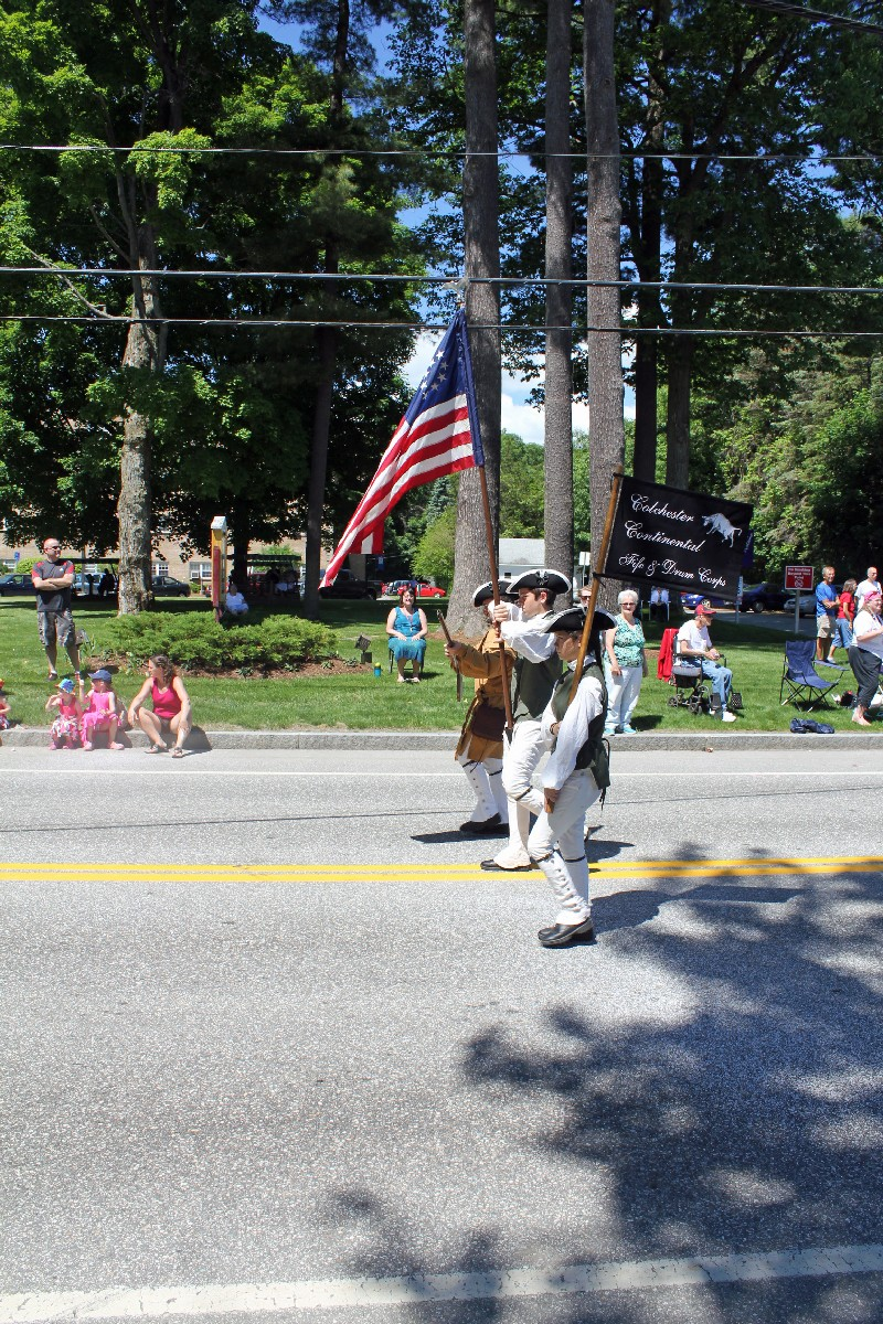 The Colchester Continental Fife and Drum Corps