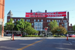 Stevens High school Alumni Parade day - June 7, 2014 ( Claremont, N.H. ) -theme is- Past, Present, and Future