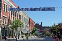 St Mary's also joins in with the Stevens High School Alumni Parade - June 7, 2014