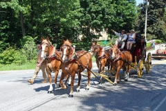 The Wells Fargo Stagecoach - Sponsored by the Greater Claremont Board of Realtors