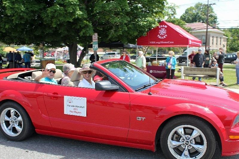 Parade Marshals : Paul and Joan Magoon