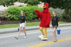 SHS Cardinal Mascot